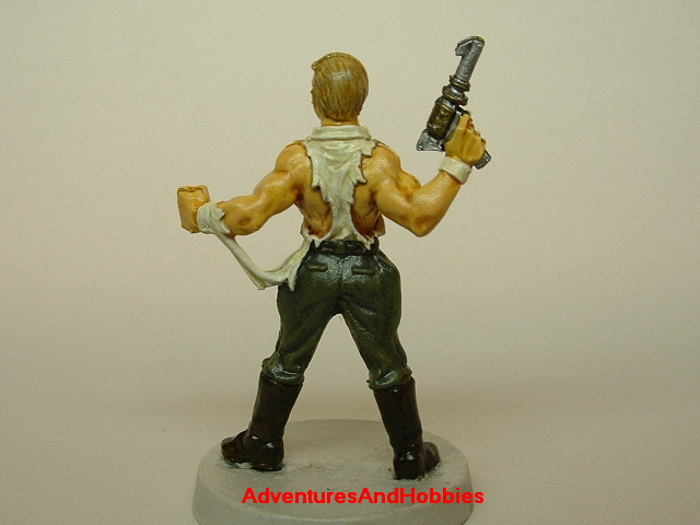 Doc Savage painted miniature 25 mm pulp hero