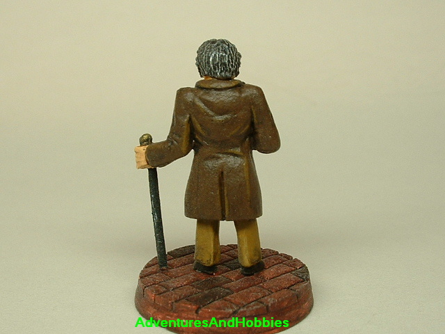 Victorian British Lord painted figure for use in role-playing games and table top war games rear