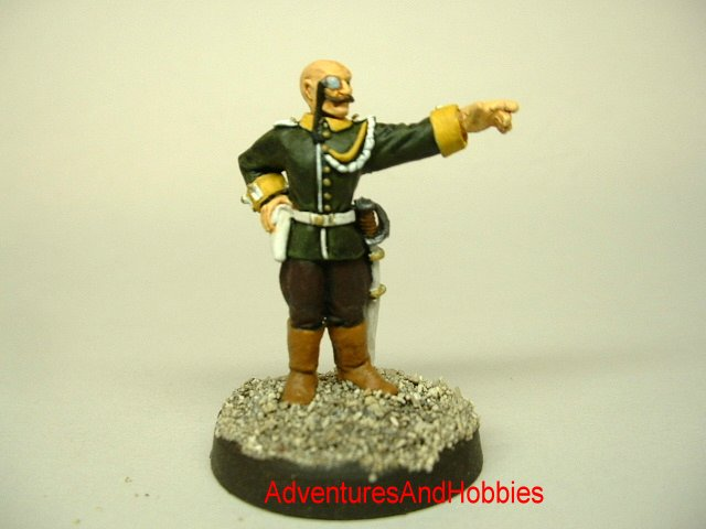 Imperial Baron Victorian Science Fiction, pulp action and Call of Cthulhu 25 mm painted figure for role-playing games and table top war games front view